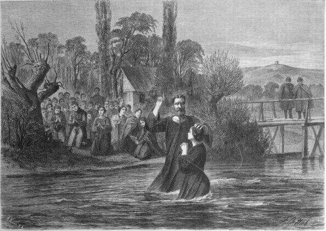 Surgimiento de anabaptistas