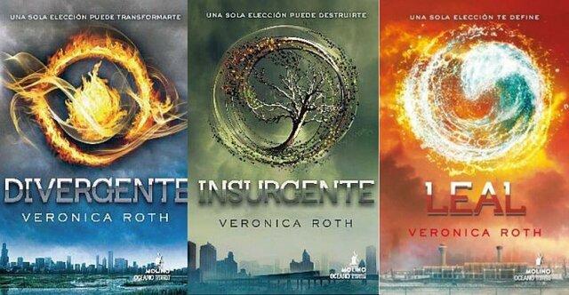 Saga Divergente (Veronica Roth) - Estados Unidos.