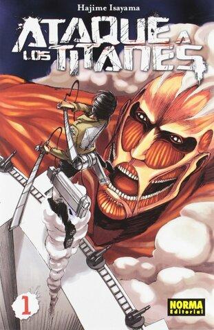 Ataque a los titanes (Hajime Isayama) - Japón.