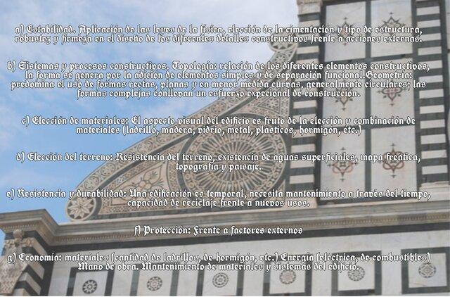 Los 3 principios de Vitruvio