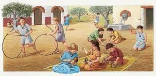 Infancia en la Antigua Roma.