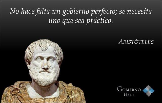 Aristóteles- formas de gobierno