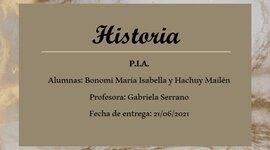 Linea del Timpo P.I.A. Historia timeline