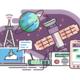 Space satellite for communication internet   kit8