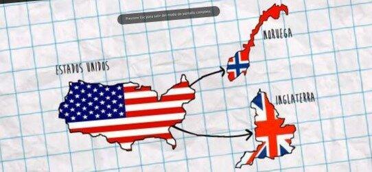 """""""Conexión con Inglaterra y Noruega"""""""
