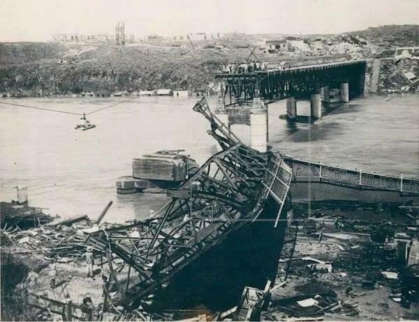 Devastación del Huracán San Zenón