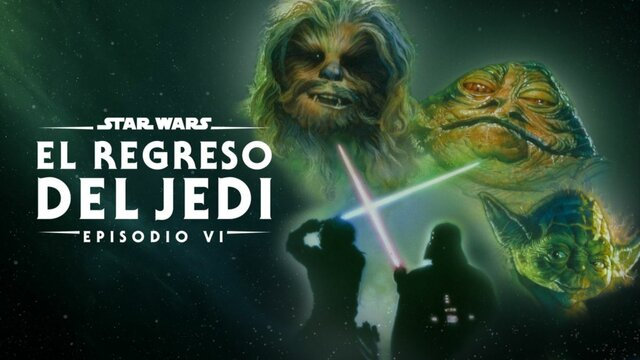 """Lanzamiento de la película """"Star Wars o Episodio VI: El regreso del Jedi"""""""