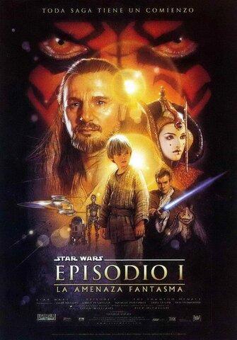 """Lanzamiento de la película """"Star Wars o Episodio I: La amenaza fantasma"""""""