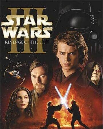 """Lanzamiento de la pelicula de """"Star Wars o Episodio III: La venganza de los Sith"""""""
