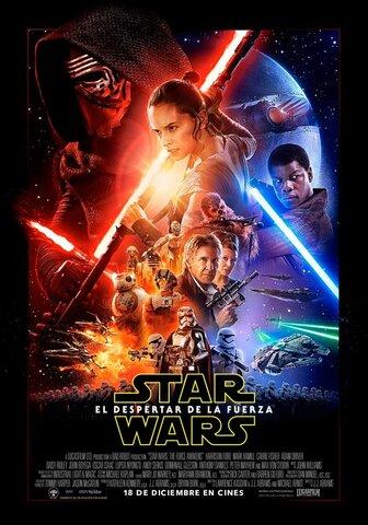 """Lanzamiento de la película """"Star Wars o Episodio VII: El despertar de la fuerza"""""""