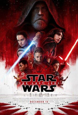 """Lanzamiento de la película """"Star Wars o Episodio VIII: Los últimos Jedi"""""""