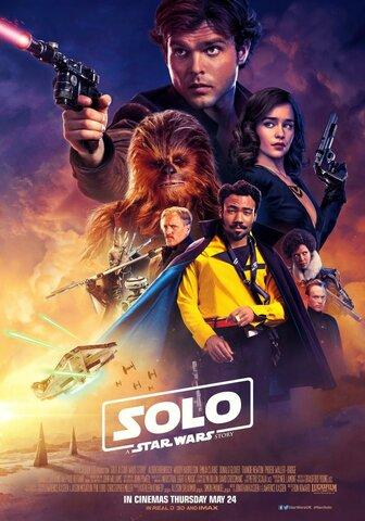 """Lanzamiento de la película """"Han Solo: Una historia de Star Wars"""""""