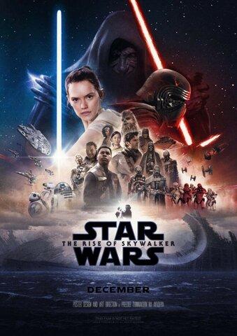 """Lanzamiento de la película """"Star Wars o Episodio IX: El ascenso de Skywalker"""""""
