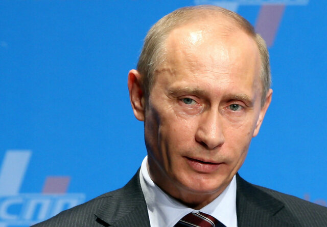 Putin takes over Russia
