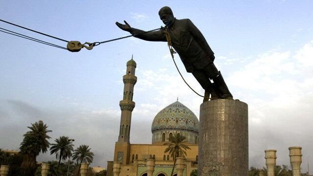 Saddam Hussein overthrown in Iraq / Invasion of Iraq