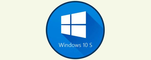 Lazamiento de Windows 10 S