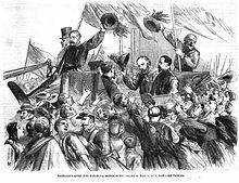Garibaldi arriva a Napoli