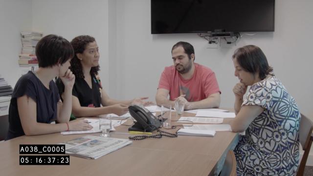 #14 reunião na redação do El País