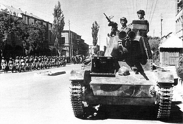 1941 Anglo Soviet invasion of Iran