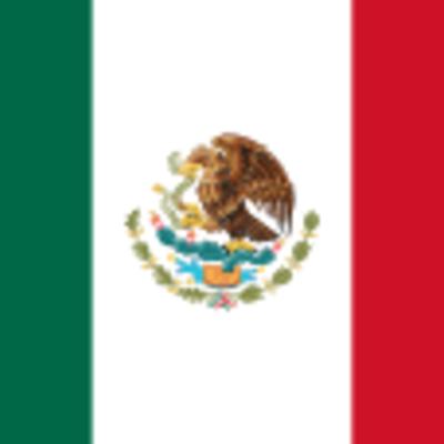 las banderas de Mexico timeline