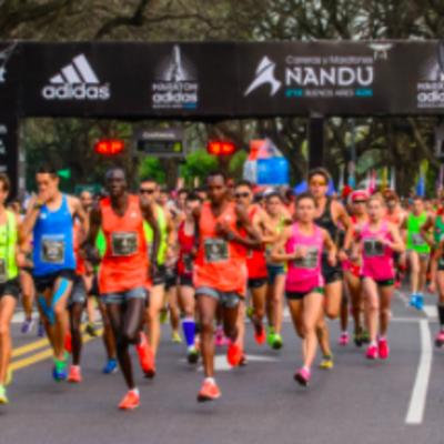 La historia de los maratones  timeline