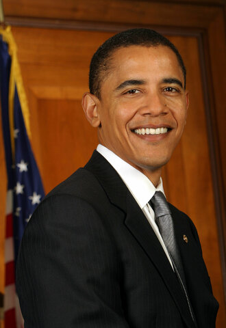 Obama elected as President of the United States
