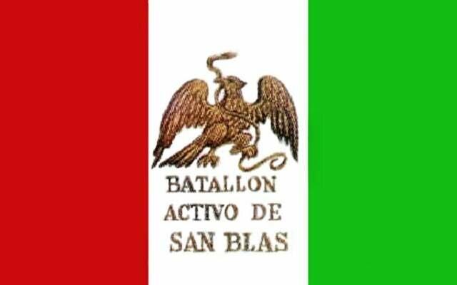 Bandera del Batallon de San blas