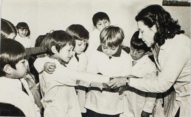 Las escuelas argentinas en los ochenta