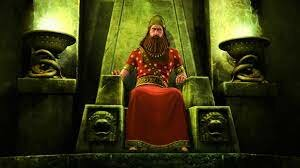 Nebuchadnezzar agarra el trono de Babilonia