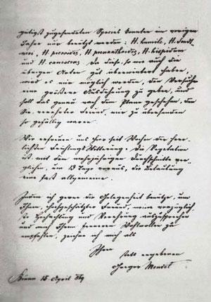 Cartas de Gregor Mendel a Carl Nägeli