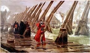 Début du siège de La Rochelle