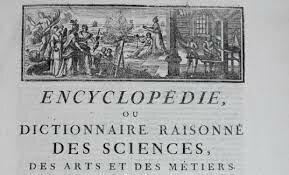 Parution du premier tome de l'Encyclopédie de Diderot et d'Alembert
