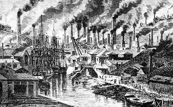 Época de la revolución industrial (Siglo XVIII).