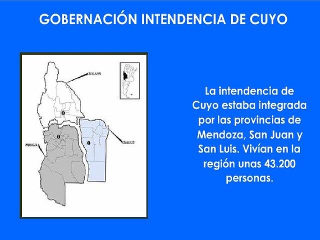 Gobernación de la Intendencia de Cuyo