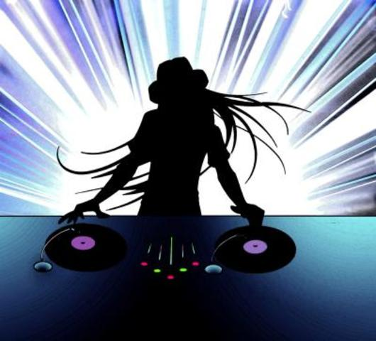 Electronic music started