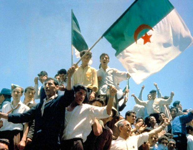 Definite independence of Algeria