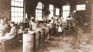 Begin van de Industriële revolutie