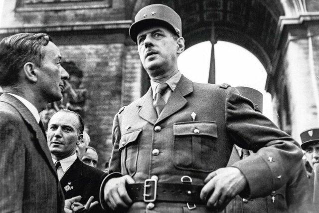 Historical figure: Charles de Gaulle