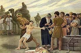 Joseph sold into slavery by his brothers