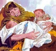 Birth of Esau an Jacob