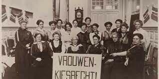 Kiesrecht mannen en vrouwen