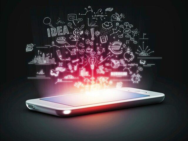 creación primer teléfono inteligente