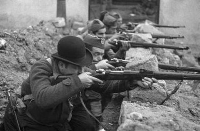 Inicio Guerra Civil Española