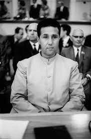 Historical figure: Ahmed Ben Bella