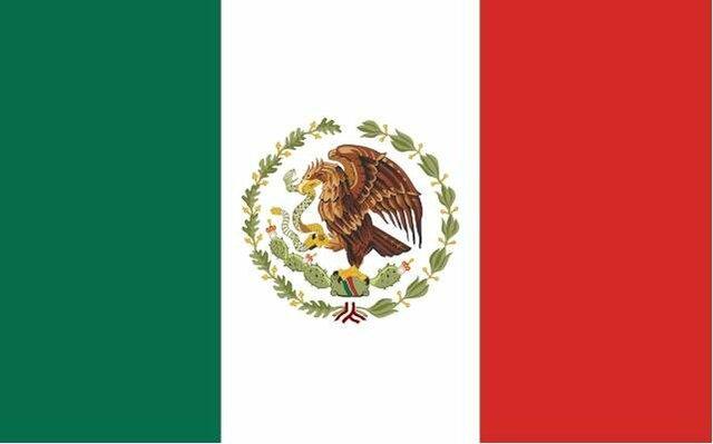 Bandera durante gobierno de Abelardo L. Rodríguez.