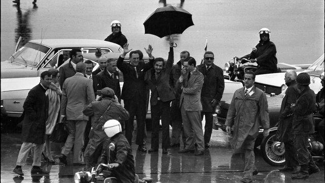 Perón en la Argentina