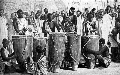 Tambores africanos