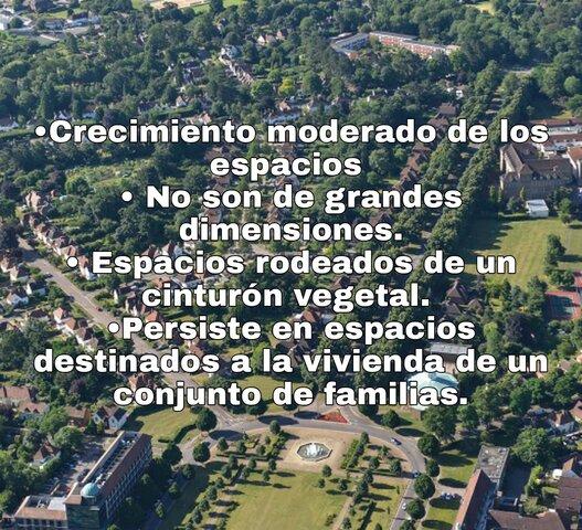 Características de Ciudad Jardín