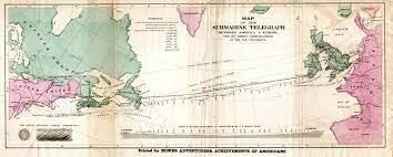 El primer telegrafo transatlantico