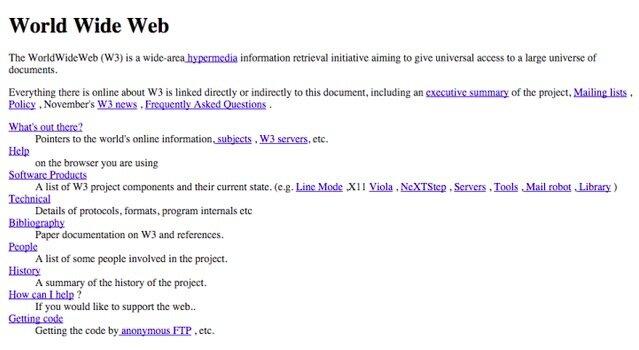 LA PRIMERA WEB